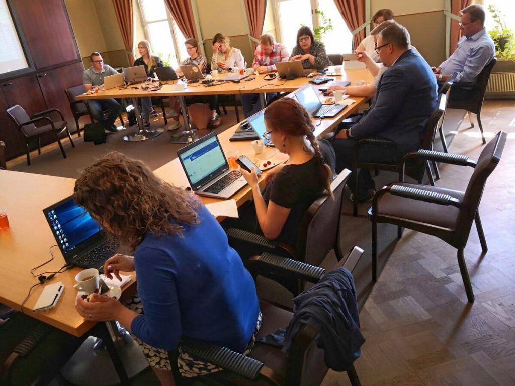 Digikilta-hanke koolla strategiapäivässä Hämeenlinnassa